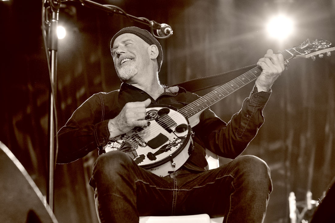 Harry Manx at the 29th Blues Fest in Byron Bay 2018
